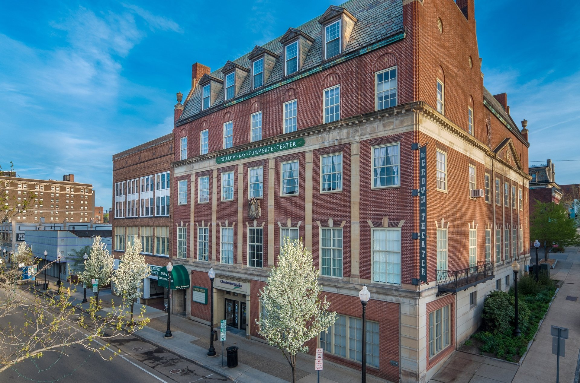 Jamestown NY Shared Office Space by Michael McVinney